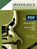 Chronic Rhinosinusitis 2012