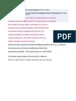 Books  List for CSP