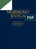 Mormono Knyga - Dar Vienas Jėzaus Kristaus Testamentas