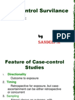Case Control Survilance