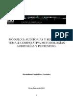 Metodologias más usadas en pentesting. Estudio comparativo.