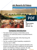 TAJ Hotels Resorts & Palace