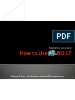 How to Use Bolt