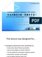 Clinical decision-making in ED