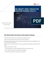 The Smart Grid Vision for Jodhpur Power Utility