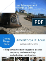 AmeriCorps STL Volunteer Reception Center - English