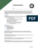Americorps Member Handbook