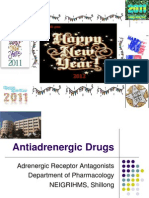 Antiadrenergic Drugs - Drdhriti