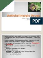 Anticholinergics - drdhriti