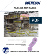 Static Pile Load Test Manual