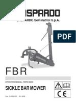 Gaspardo FBR Manual