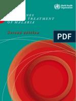 Malaria Treatment Guidelines Who