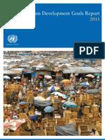 The Millenium Development Goals MDG 2011