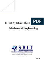 B.tech MDU Syllabus (ME)