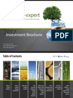 Carbon Expert Investment Brochure 2012