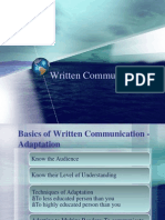 Writen Communication Unabridged