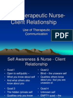 2 the Therapeutic Nurse-Client Relationship