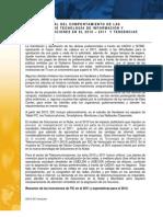 RESUMEN ANUAL DEL COMPORTAMIENTO DE LAS INVERSIONES DE TECNOLOGÍA DE INFORMACIÓN Y TELECOMUNICACIONES EN EL 2010 – 2011 Y TENDENCIAS PARA EL 2012. IDC VENEZUELA