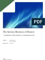 Miz Niko Va Humor as a Business Tool