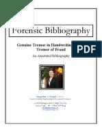 Genuine Tremor in Handwriting vs the Tremor of Fraud
