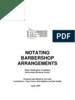 Barbershop Notation Manual 4-17-2009[1]