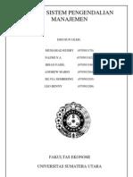 Sistem Pengendalian Manajemen Bab 1