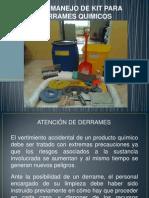Uso y Manejo de Kit Para Derrames Quimicos