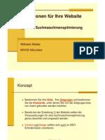 Suchmaschinenoptimierung Scriptum 2010