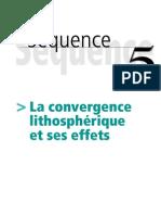 convergence lithosphérique
