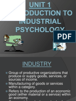 Industrial Psychology