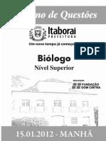 15 JAN_MANHÃ_SMS_BIÓLOGO_SUPERIOR