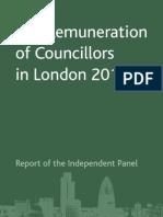 London Councils Remuneration Report for Councillors