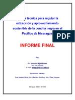 Estudio Norma Extraccion Concha Negra-Pacifico
