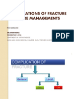 Fracture Complication and Their Managements