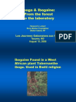 Ibogaine From Forest to Lab