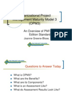JGBOPM3 an Overview of the PMI Standard4909.109125607
