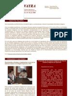 Boletin Wayra. Año 2, N°33 Julio 2006
