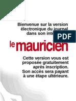 Le Mauricien 30 Aout 2011