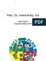 Plan Do Check Study Act  with Diagrams