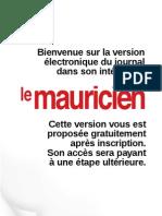 Le Mauricien 17 Aout 2011