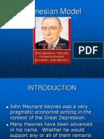 3. Keynesian Model