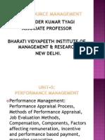 Unit 5 Performance Management