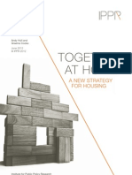 IPPR - Together at Home - A New Strategy for Housing