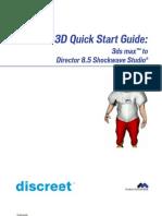 3dsmax Shockwave Quickstart