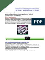 Impermeabilizante Con Unicel--- Poliestireno Estendido