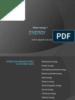 Ppt Energy English