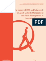 21299367 the Impact of IFRS and Solvency II on Asset Liability Management and Asset Management in Insurance Companiesm 2006
