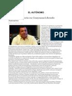 Ganará decencia en Guaymas_Librado Navarro