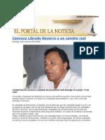 Convoca Librado Navarro a un cambio real