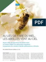Au lieu de faire du miel, les abeilles vont au ciel